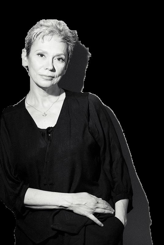 Oana Pellea poză alb negru